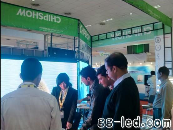 齐普光电2011年印度新德里国际LED博览会取得圆满成功